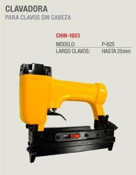 Clavadora Neumatica Mini Espina P625 China Nueva espinas de 15 18 22mm