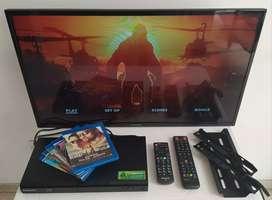 COMBO BLURAY 3D SAMSUNG Y TV LED 32 PULGADAS PANASONIC