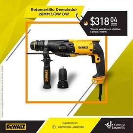Rotomartillo Demoledor - 28mm - 1undefined#x2F;8w DW