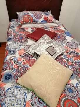 Vendo cama con colchón