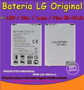 Batería Lg Original Bl41zh Lg L50 / Kite / Leon / Fino OBELISCO