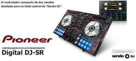 Controlador Pioneer Digital Djsr Serato