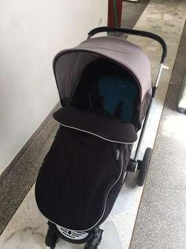 Coche infanti epic 3g con silla de auto.