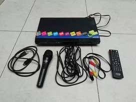 Reproductor DvD kalley karaoke nuevo para ver películas CD HD