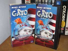 Dr. Seuss' The Cat in the Hat (El Gato) - VHS 2003