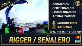 RIGGER U AUXILIAR DE OPERADOR DE GRUA
