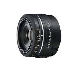 Sony SAL30M28 30 mm f/2.8 lente para cámaras réflex digitales Alpha