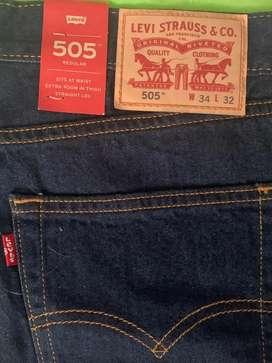 Jean Levis 505 Talla 34 - 32 Original Nuevo