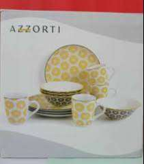 vajilla Azzorti 12 piezas