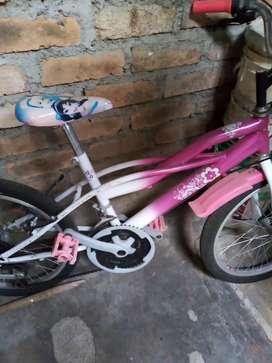 Vendo cicla para niña