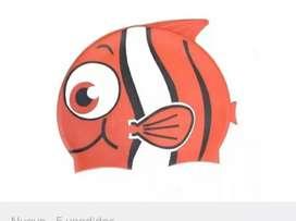 Gorro natación silicona Bestway modelo pez