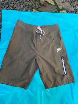 Bermuda Pantaloneta Short Nike Original Talla 30 Verde Militar
