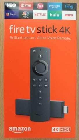 Amazon Fire Tv 4k Alexa, Nuevo Y Sellado