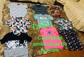 Camisetas americanas hawaianas