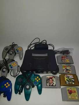 Nintendo 64 completo
