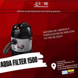 Sistema de limpieza con filtro de agua