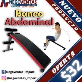 BANCO ABDOMINAL FITNESS EN OFERTA ÚNICA DE NEGOVENTAS