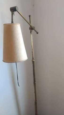Lámpara de Bronce Vintage
