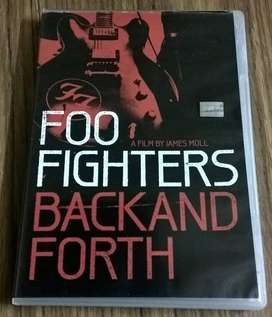 Foo Fighters DVD Back and forth