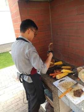 Servicio de parrilladas a domicilio, alquiler de parrillas y carbón meseros parrilleros profesionales