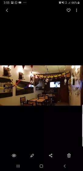 Alquilo Restaurante Amueblado, Lindo muy Buen precio