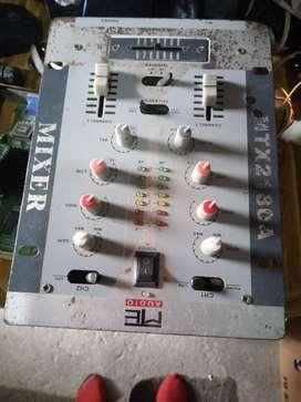 mezclador 2 canales 4 vias