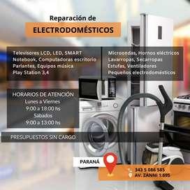 Reparación de electrodomésticos - Presupuestos sin cargo
