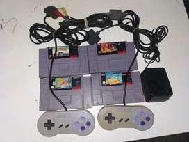 Accesorios para super Nintendo