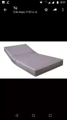 Colchoneta cama hospitalaria