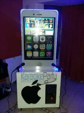 Karaoke Rockola Alquiler para Eventos , Cumpleaños