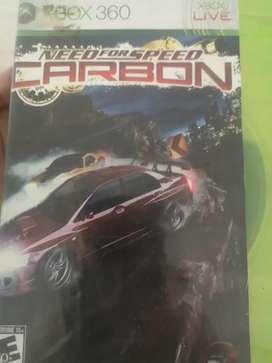 Videojuego xbox 360 need for speed csrbon