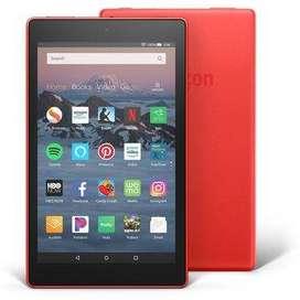 """Tablet Fire HD 8 (pantalla HD de 8 """", 16 GB) - rojo"""