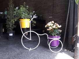 Bicicleta portamacetas