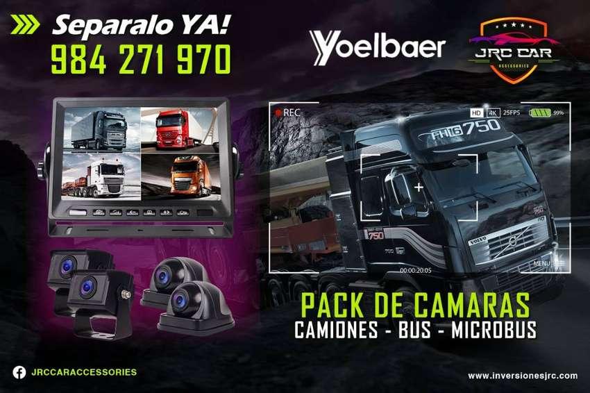 Sistemas de  kit de Camaras para  Buses , Camiones , maquinaria Pesada , combis . 0