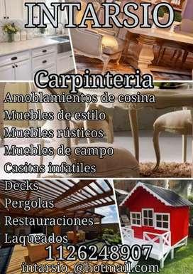 INTARSIO  CARPINTERIA