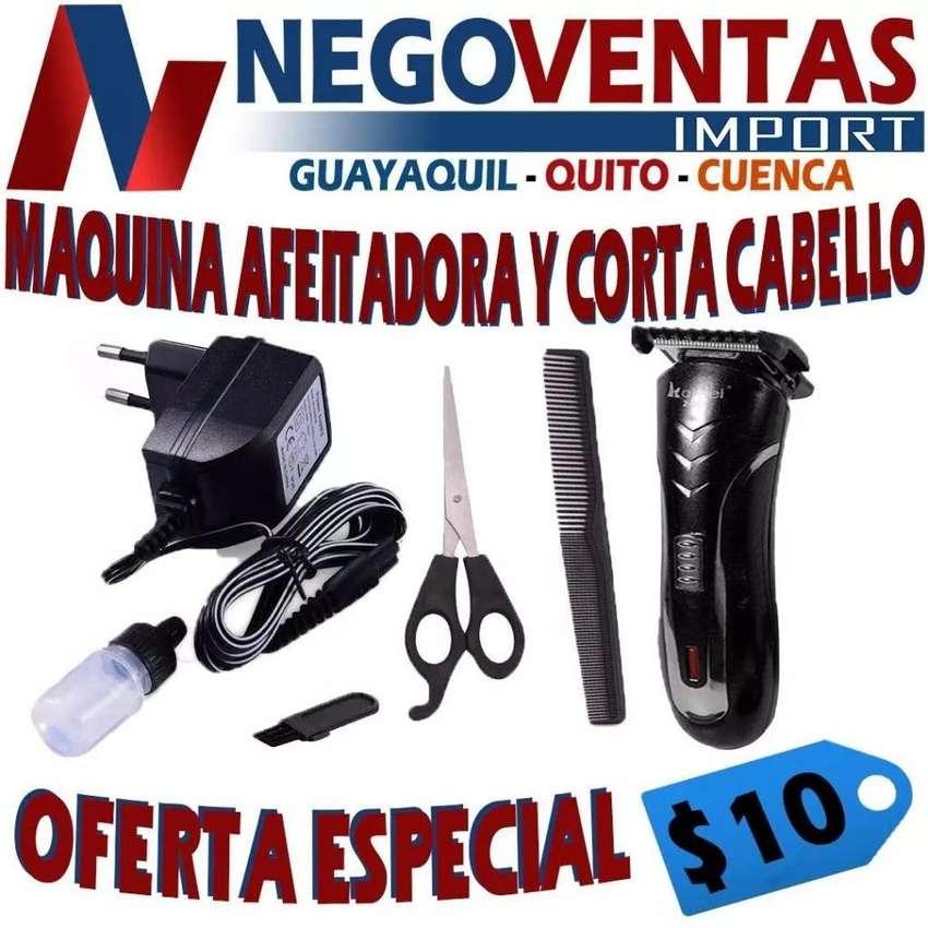 MÁQUINA AFEITADORA Y CORTA CABELLO OFERTA 10,00 0