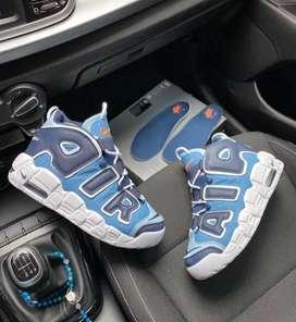Botas Zapatillas Nike Uptempo Hombre Original