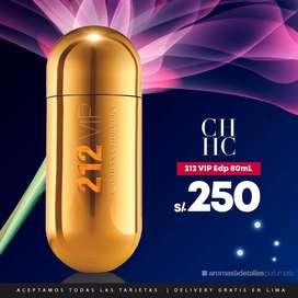 Perfume Carolina Herrera 212 Vip Edp 80 ML