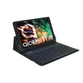 NUEVO * Tablet Wifi 10 Pulgadas Alcatel con TECLADO 1t10 1gb 16gb Negro