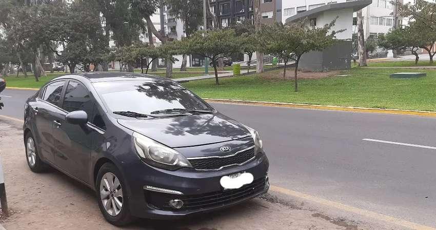Kia rio sedan automático 2016
