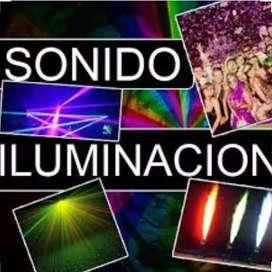 Sonido e iluminación