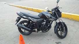 Motocicleta Yamaha SZ 150 año 2019, como nueva con poco uso, con matricula y revisión al dí