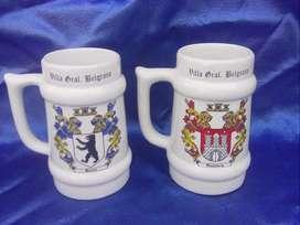 Chopp jarras cerámica Villa General Belgrano