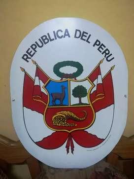 Escudo Nacional Metálico