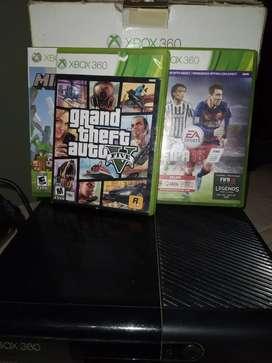 Xbox360  con todos sus accesorios