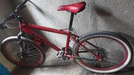 Bicicleta aluminio rin #26