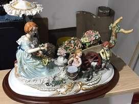 Porcelana Italiana Capo Di Monti