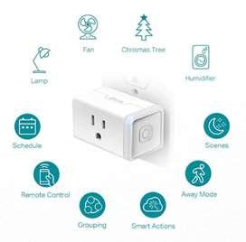 Wi-Fi Alexa Smart Plug Mini Alexa y Asistente de Google