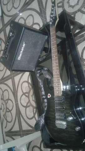 Guitarra Ibanez GRX70 + Amplicifador + accesorios