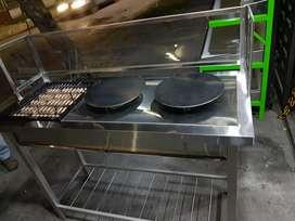 Estufa industrial de crepes ( metálicas strong)